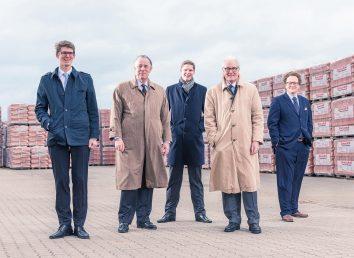 Familie Jacobi - Max, Lucas, Klaus, Helmuth Jacobi und Dominic Jung