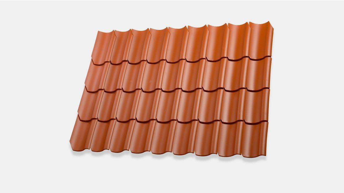 Hohlpfanne H2 Dachziegel