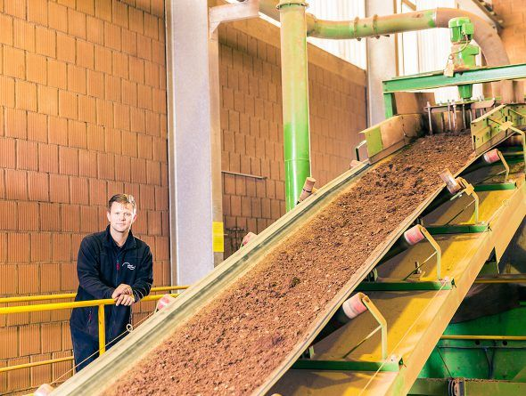 Produktion Dachziegel Jacobi Walther