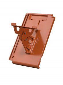 Laufrost-Halterung mit Grundpfanne - für Flachziegel Stylist - Zubehör Dachziegel