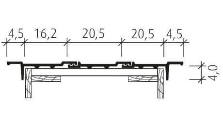 Standard Falzziegel Z7v Ortgang