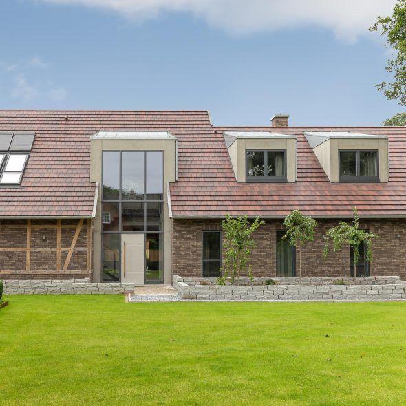 Einfamilienhaus im Landhausstil mit WALTHER Stylist